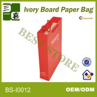 restaurant paper bag for gift package in cutley paper bag