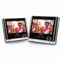 "Dual Screen 7"" Tablet Portable DVD Player.  Model No: TFDVD7751D"