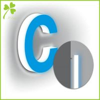 Custom Acrylic Logo Full Illuminated Letter Maker