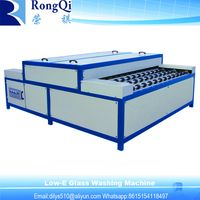 Horizontal Insulating Glass Making Glass Washing Machine