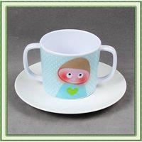 Melamine Coffee Mug and saucer thumbnail image