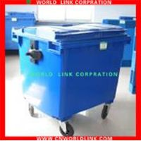 wheeled plastic outdoor pedal container bins