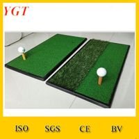 Cheap Portable Golf Training Aids / Golf driving Range Practice Putting Mat