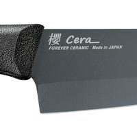 Ultra Smooth Surface Ceramic High Density Ceramic Knife black blade knives cookware JAPAN thumbnail image