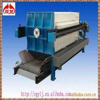 Hydraulic industrial polypropylene micro filter press