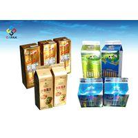 Metallic Printing Milk and Juice Aseptic Package