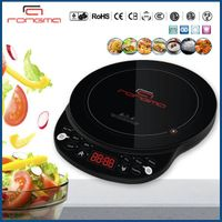 Round induction cooker