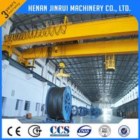 Manufacturer Workshop 5 Ton Double Girder Overhead Crane