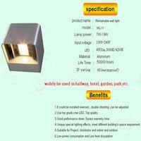 7w up down light wall led aluminum outdoor lamp thumbnail image