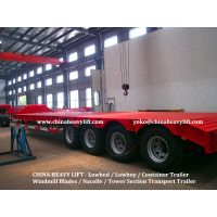CHINA HEAVY LIFT - 2 axle Flatbed Container Trailer