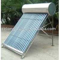 CE approved solar water heater for common household thumbnail image