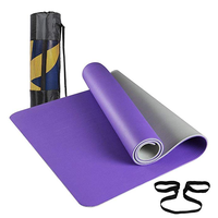 LOST WANDERER Widened and thickened Two-color yoga mat Environmentally friendly and tasteless