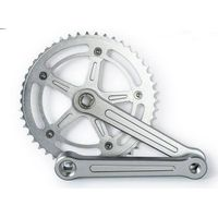 Factory bicycle chainwheel, chainwheel with color flap,24-34-42T,170MM