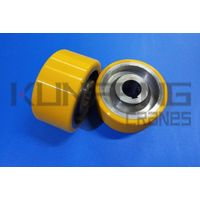 Coated wheels polyurethane of Intelligent drive origin China