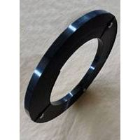 Steel Strap black painted and waxed