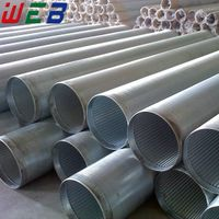 Stainless Steel Wedge Wire Filter Pipe Screen (ISO9001:2008 Factory) thumbnail image