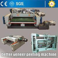 thick core veneer peeling lathe, veneer rotary cut
