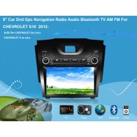 "8"" Car Dvd Gps Navigation Radio Audio Bluetooth TV AM FM Vehicle Navigation For CHEVROLET S10  2012-"