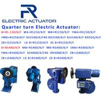 Quarter Turn Motor Actuator B-RS250 B-RS400 thumbnail image
