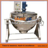 Tilting type mixing jacketed boiler