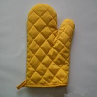 Printing cotton oven gloves,used in household work