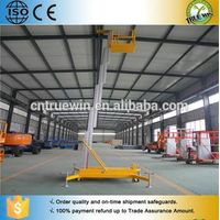TRUEWIN telescopic vertical man lift aluminum lift platform