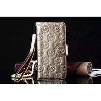 For Galaxy S6 S7 edge plus Note 5 Fashion Luxury Capa Leather Flip Wallets Case for iPhone 6 6s plus