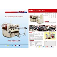 Six Color Fully Automated Soft Tube Screen Printing Machine with UV
