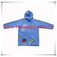 #kids077 pvc kids vinyl raincoat