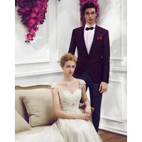 fashionable fit wedding suit