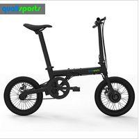 Factory direct geared motor 16inch light electric bike 250w folding e bike with hidden battery