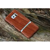 Genuine wood case for Samsung Galaxy S6, For Galaxy S6 Wooden bamboo case