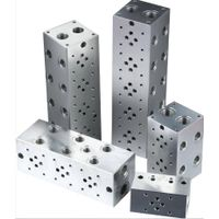 Factory Directly Supplier cnc machined hydraulic manifold blocks