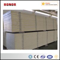 ISO SGS Approved Color Steel Pur Sandwich Panel for Cool Room Cold Room Freezer