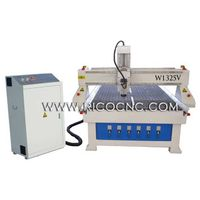 MDF Board Cutting Machine With CNC Vacuum Table Wood CNC Router Machine W1325V thumbnail image