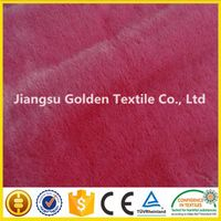 Polyester Long Pile Faux Fur Fabric