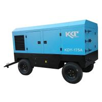 KDY-175A portable rotary screw air compressor