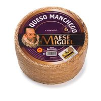 Cured Manchego Cheese PDO   Maese Miguel