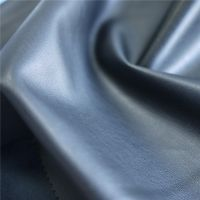 Polyester Fabric Chammy Flocked PU Leather for Shoe Lining Cloth Jacket