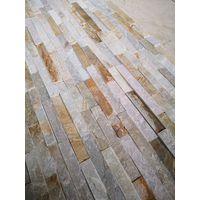 Natural Stone Splitface Tile in Golden Honey