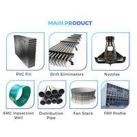 Latino cooling tower spare parts