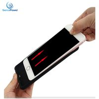 Hot Sale TPU Cover Wireless Charger Power Bank Battery Backup Case for Iphone 6