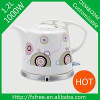 1.2L Ceramic electric kettle