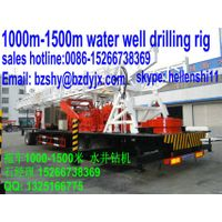 1000m water well drilling rig in trailer mounted thumbnail image