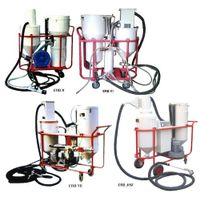 closed circuit abrasive blast machines