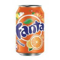 Fanta orange soft drink 330ml