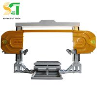 CNC diamond wire saw cutting machine for stone block&slab cutting and profiling