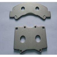 back plate for brake pad