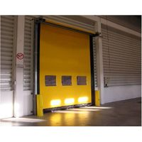 Industrial Electric PVC High Speed Door, High Speed Rolling Door, High Speed Roller Shutter Door