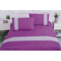100% cotton comfortable elegant bedding set